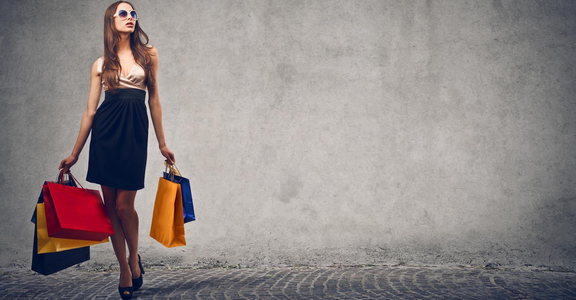 shoppa kläder på internet